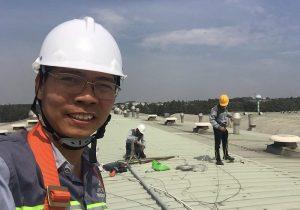 Hệ thống chống sét công ty TNHH Bao Bì Giải Khát Crown Đồng Nai