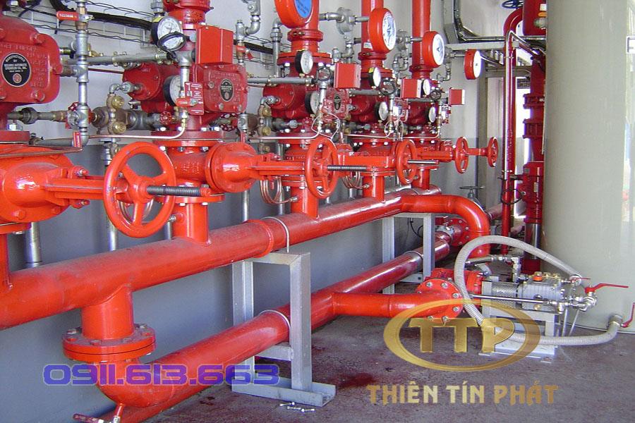 thi công hệ thống phòng cháy chữa cháy chuyên nghiệp