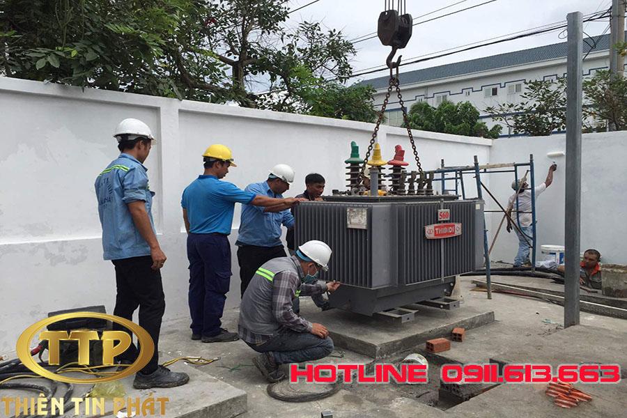 nhà thầu điện công nghiệp tại Bình Phước
