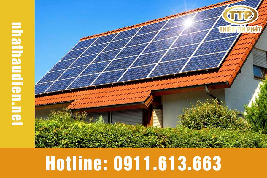 điện năng lương mặt trời